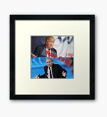 Shrug Cartel Framed Print