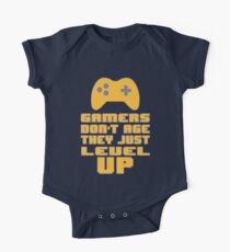 Gamer's Life - We don't Age One Piece - Short Sleeve