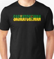 Saskatchewan flag Slim Fit T-Shirt
