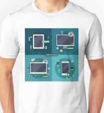 Computer and Electronic Basics: Laptop, Computer, Smart Phone, Tablet and Accessories T-Shirt