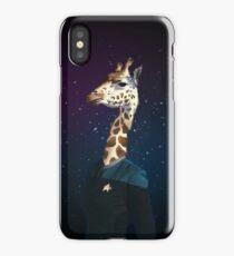 Enterprising Giraffe iPhone Case