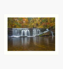 Gore Glen Waterfall Art Print