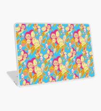 Electric Banana Monkey Pattern Laptop Skin