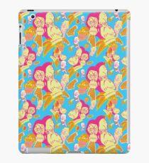 Electric Banana Monkey Pattern iPad Case/Skin