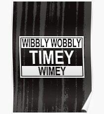 Timey Wimey Poster