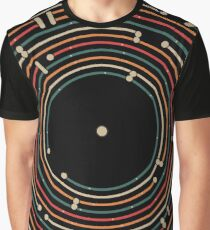 Vinyl music metro record map labyrinth  Graphic T-Shirt