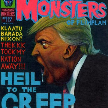 Infamous Monsters: Donald Trump by SMD83