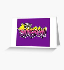 Synergy! Greeting Card