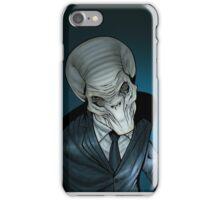 The Silent Command iPhone Case/Skin