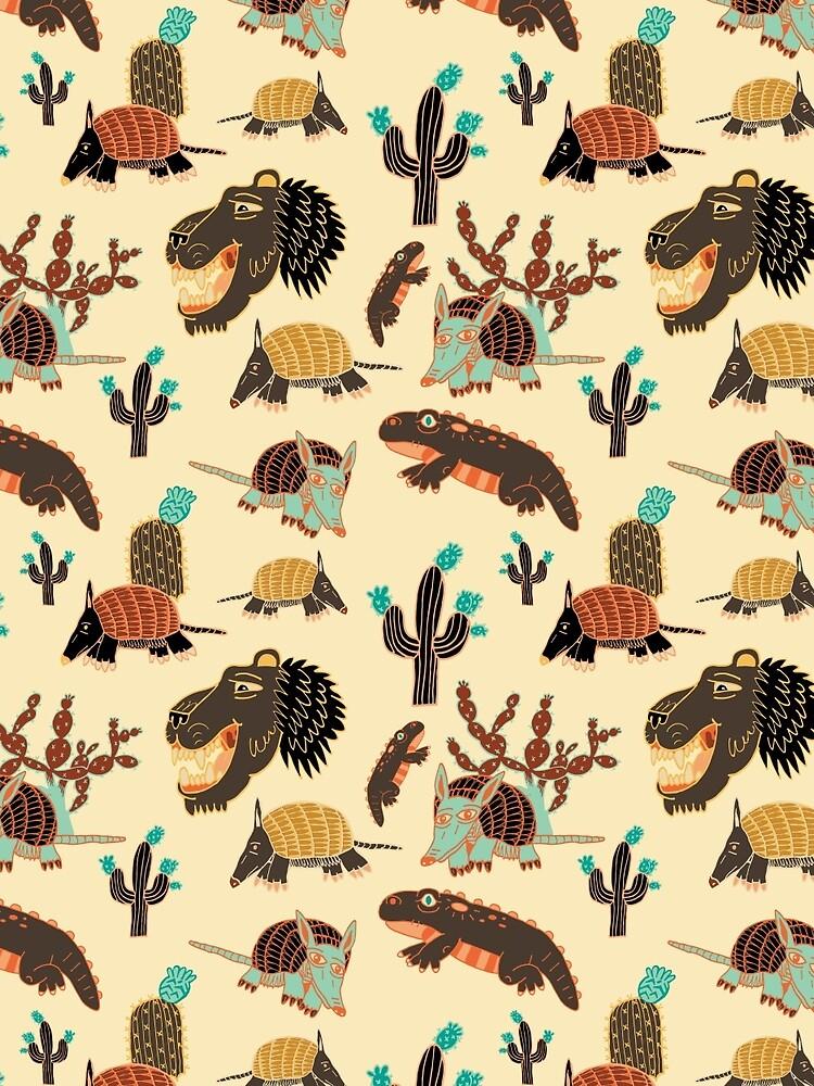 Wüstenkreaturen von Chaparralia