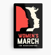 Official women's  march on washington  Metal Print