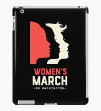 Official women's  march on washington  iPad Case/Skin