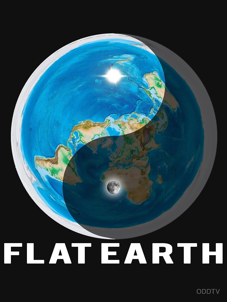 Flat Earth Yin and Yang  by ODDTV
