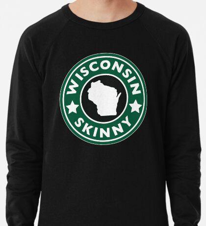 Wisconsin Skinny Caffeine Lightweight Sweatshirt