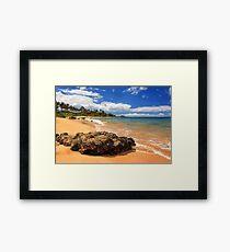 Mokapu Beach Maui Framed Print