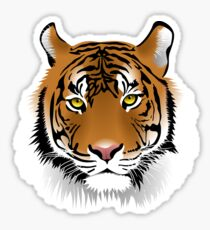 Hypnotic Bengal Tiger Sticker