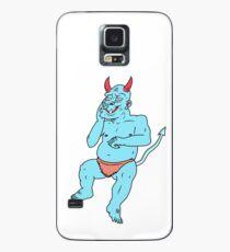 Blue Blue Monster Case/Skin for Samsung Galaxy