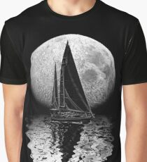 Midnight Sailing Graphic T-Shirt
