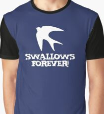 Swallows Forever logo Graphic T-Shirt