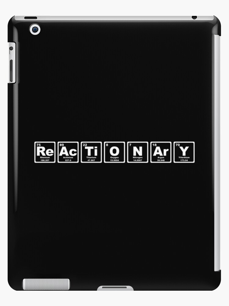 Reactionary - Periodic Table by graphix