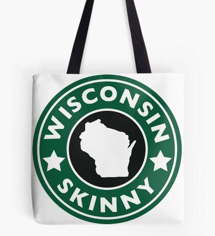 Wisconsin Skinny Caffeine Tote Bag