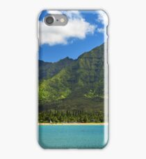 Kayaks In Hanalei Bay iPhone Case/Skin