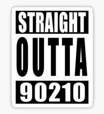 Straight Outta 90210 Sticker