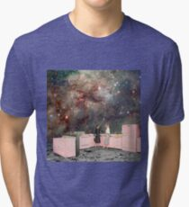 Luna Kitchen with a View Tri-blend T-Shirt