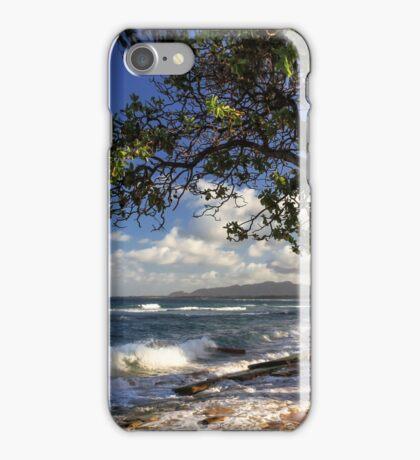 The Beach At Kapaa iPhone Case/Skin