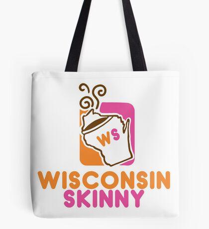 Wisconsin Skinny Mmmmm Tote Bag
