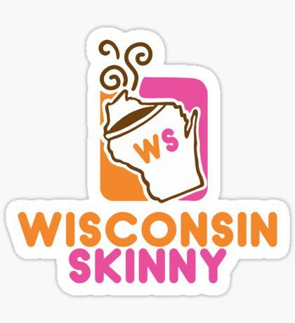 Wisconsin Skinny Mmmmm Sticker
