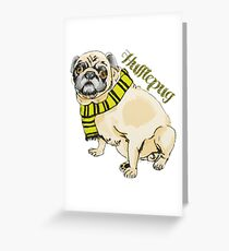 Hufflepug Greeting Card