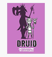 AFTER SCHOOL WARRIORS: DRUID Photographic Print