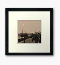 Steveston Harbour Framed Print