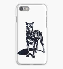 PIT BULL PUPPY (Graffiti) iPhone Case/Skin