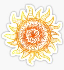Sun Mandala Sticker