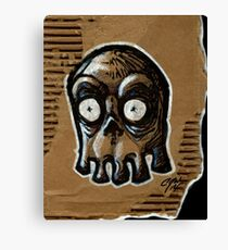 Blinky Ghost Canvas Print