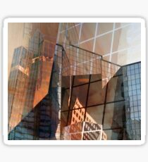 Glass Building Reflections Sticker