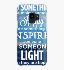 Inspirational Quote: Create Something That Inspires Case/Skin for Samsung Galaxy