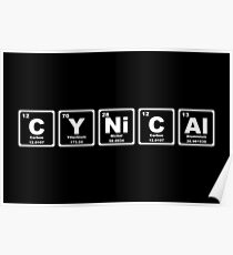 Cynical - Periodic Table Poster
