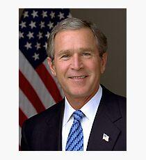 George Bush Photographic Print