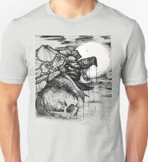 snapping turtle pen and ink Unisex T-Shirt