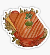Turkey ham and bacon cheese sandwich Sticker