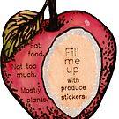 Eat Real Fruit Trophy by Jen Toal
