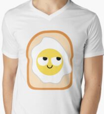 Bread with Egg Emoji Think Hard and Hmm T-Shirt