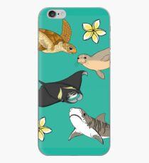 Hawaiian Ocean Critters iPhone Case
