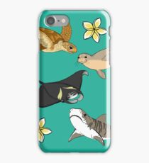 Hawaiian Ocean Critters iPhone Case/Skin