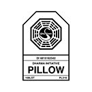Dharma Initiative Pillow by Beanafred