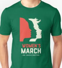 Women's March on Washington 2017 Official Unisex T-Shirt