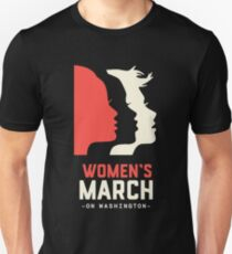 Women's March on Washington 2017 Official T-Shirt